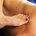 Massage Using Foot Pressure